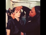 Видео от Коко Роша - подготовка к показу Victoria Beckham Autumn-Winter 2014